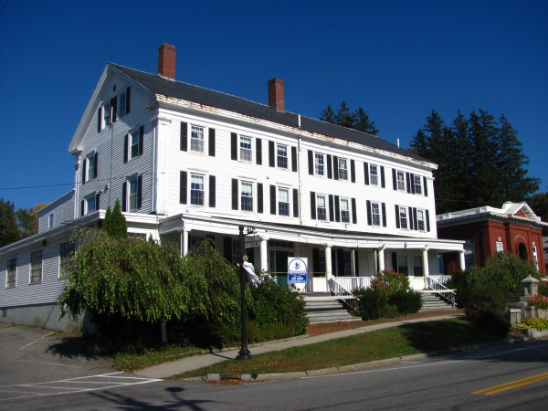 The current owner of the former Jed Prouty Inn, located on