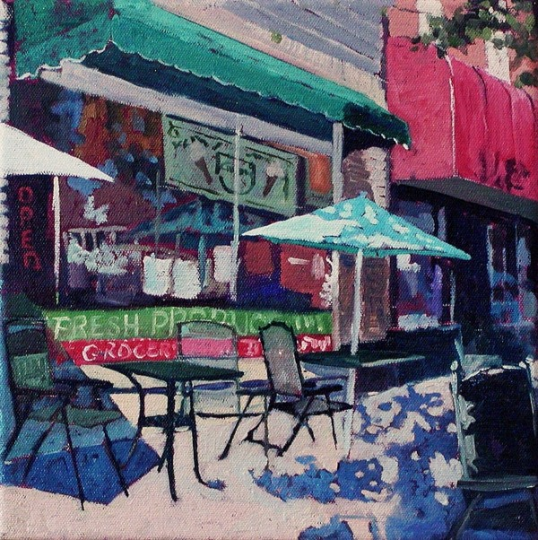 """Giacomo's"" by JoAnne Houlsen will be shown in ""Ten,"" a one-night exhibit from 5 to 8 p.m. on Thursday, Oct. 27, at 73 Central St. in Bangor."