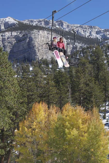 Las Vegas Ski and Snowboard Resort first to open in country