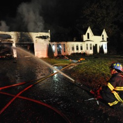 Stetson farmhouse gutted by fire