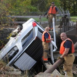SUV pulled from canal near Bangor airport