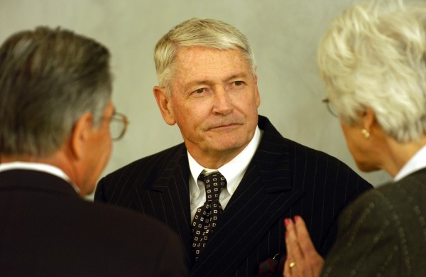 John Malone (center) is now the United States' largest landowner