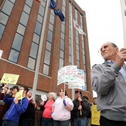 Occupy Thanksgiving: Protesters 'taken care of' by Mainers