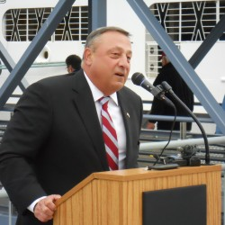 LePage will stand tall against Maine state union