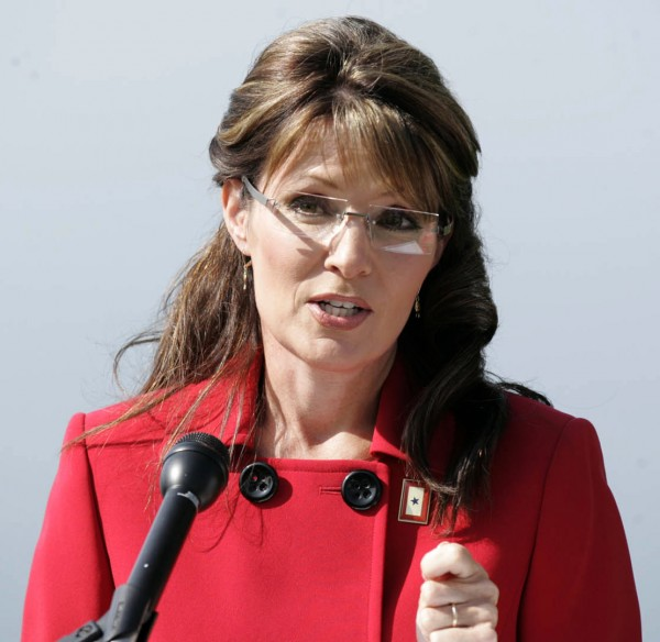 Alaska Gov. Sarah Palin announces that she is stepping down from her position as Governor in Wasilla, Alaska on Friday July 3, 2009.
