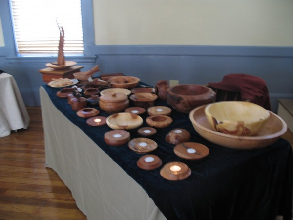 Beautiful Hand Turned wooden bowls, candle holders and one of a kind vessels retain the character of the tree. Hand crafted by Jeffrey Raymond of Pownal Maine
