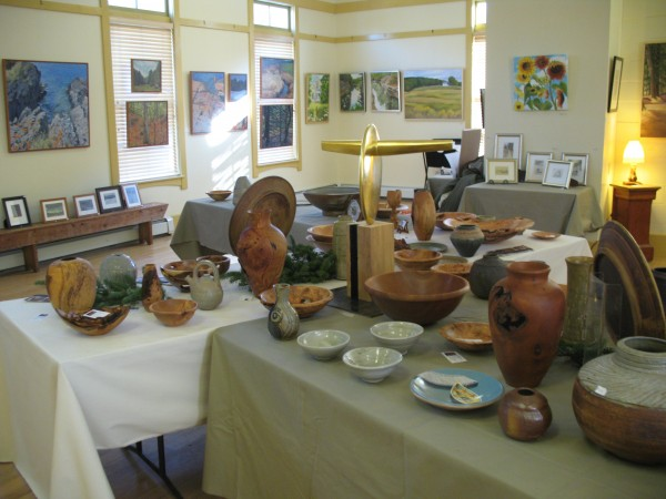Fine Arts and Crafts from Bradbury Mountain Arts Annual Holiday Show