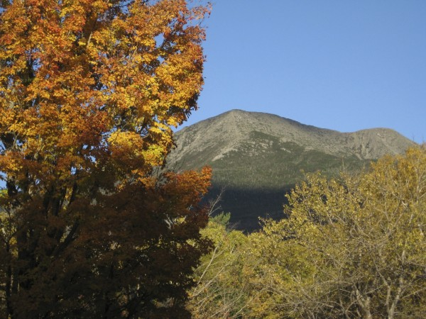 When hiking bigger mountains like Katahdin, expect winter-like conditions in late fall. Plan your trip with a firm turn-back time, and stick to it, to be safe.