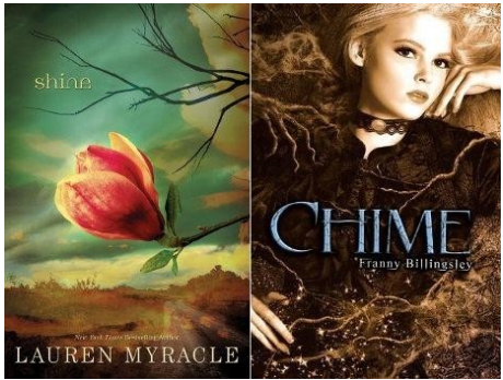 &quotShine,&quot by Lauren Myracle, and &quotChime,&quot by Franny Billingsley.