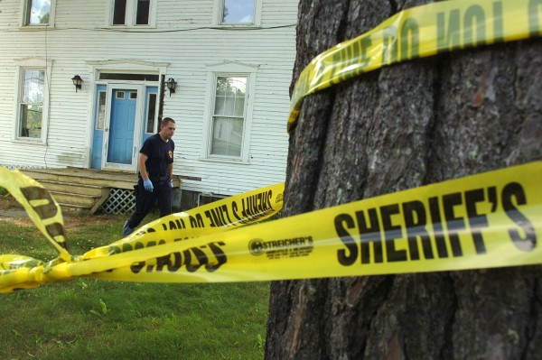 On Friday 22, 2011, Maine State Police investigators remained on the scene of a homicide which occurred Thursday night on Ham Hill Road in Cambridge. Alfred Licata was found dead in front of his home after his wife called 911.