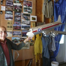 Library to display handmade airplane models