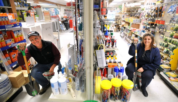Andy and Terry Lovell bought and reopened a hardware store under the name of Lovell's Guilford Hardware in 2006 and they have grown since.