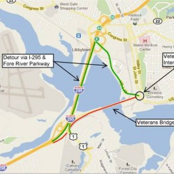 Veterans Memorial Bridge to be closed overnight Nov. 16