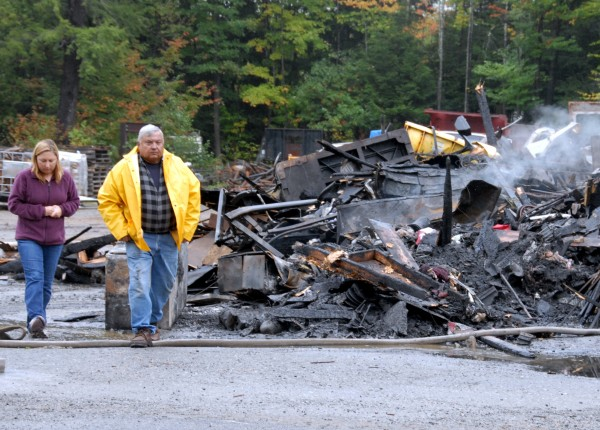 Day's Welding & Machine owner Richard &quotDickie&quot Day and his