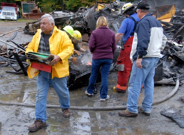 Day's Welding & Machine owner Richard &quotDickie&quot Day salvages