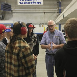 WCCC Students Observe Inside Operations at a Machias Plant
