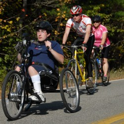Millinocket teen to pedal 50 miles, with his hands