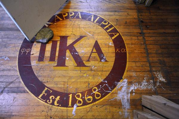 Pi Kappa Alpha fraternity house in Orono