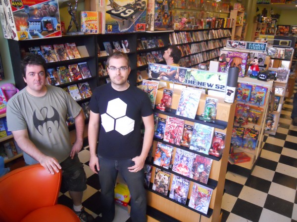 Tristan Gallagher and Chad Pennell, co-owners of Coast City Comics on Congress Street in Portland, are helping organize a new three-day comic convention in the city to be held next month.