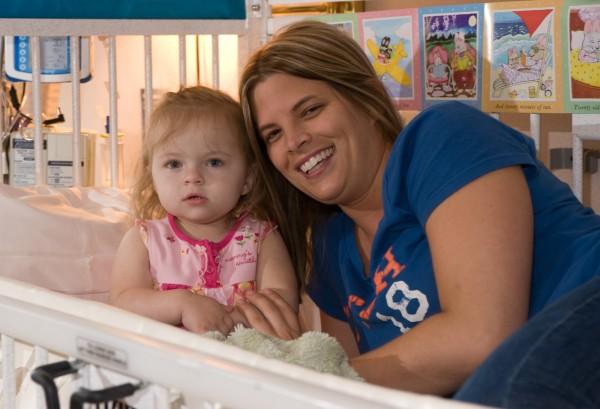 Three-year-old Isabella Bertolino and her mother, Jessica Bertolino, are happy to be back at home, and grateful for the help provided them through Irving Oil Co.'s Fuel the Care program.