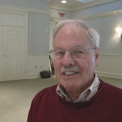 Jobseeker David Rudolph, 79, of Thomaston spoke at Wednesday's summit on Maine's older workers about some of his experiences looking for work. He has experience in the fields of education, community mental health and social services, was a small business-owner and more over the last several decades and is now seeking full or part-time work, preferably in administration.
