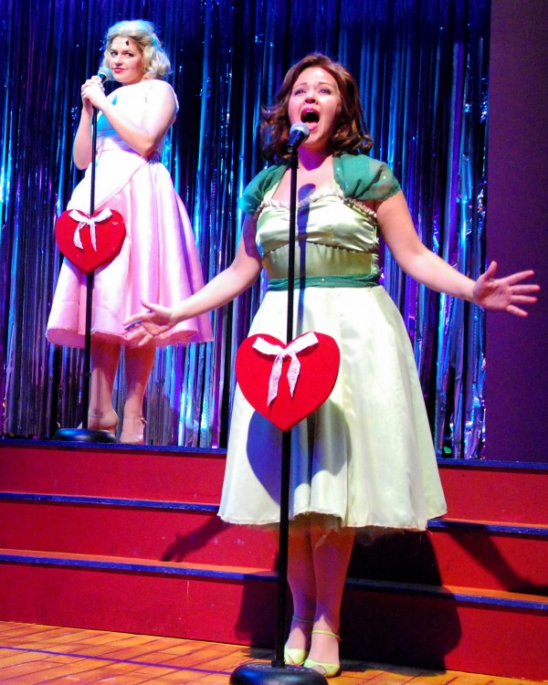 "Melissa Hammans stars as one of the ""Marvelous Wonderettes."""