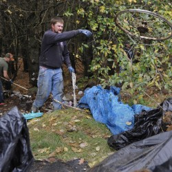 Volunteer trash clean-up project on Saturday to show respect for landowners