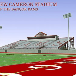 Cameron Stadium renovations set to begin; Bangor, John Bapst football teams to juggle schedules this fall