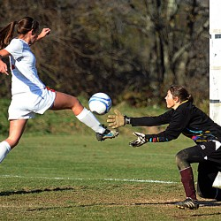 Goalkeeper Brownell played vital role in Central's state girls soccer title