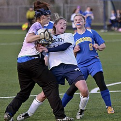 Richards' hat trick powers Presque Isle girls