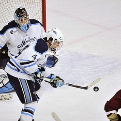 Maine senior defenseman Hegarty enjoying new role on power play