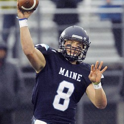 UMaine QB Smith holsters 'gunslinger' mentality, but remains armed and ready