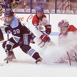 UMaine men's hockey coach Whitehead, UMass Lowell's Bazin familiar 'foes'