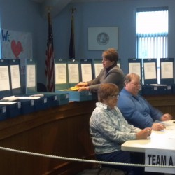 Hampden finishes ballot review; recount and new election requested
