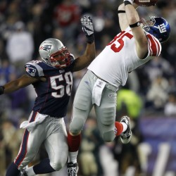 Giants rally to defeat Patriots 21-17 in Super Bowl XLVI