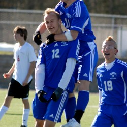Gallagher goal in OT gives Camden Hills win over Ellsworth in EM Class B boys soccer title