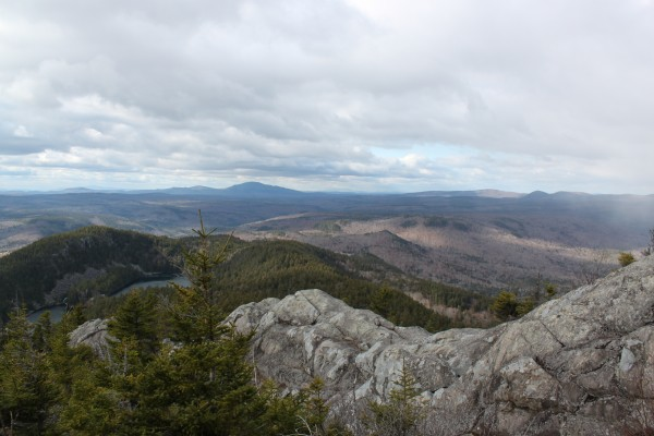 A view from the West Peak of Borestone Mountain near Monson, Maine, on Nov. 4, 2011.