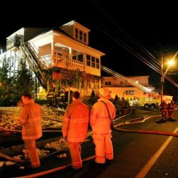 Family of Gov. LePage said to have been displaced by earlier Lewiston fire