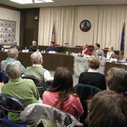 Five of six Bangor council challengers meet, greet public