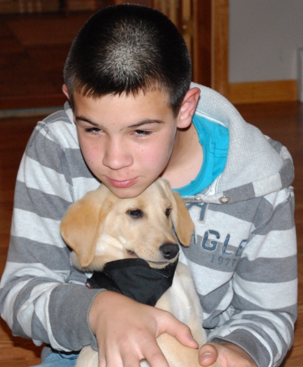 The relationship between Holden Bernier and his dog, Ruger, is beyond that of owner and pet. Ruger is a specially bred and trained diabetic alert dog whose presence will allow Holden, who has Type 1 diabetes, a level of independence he's never had before.