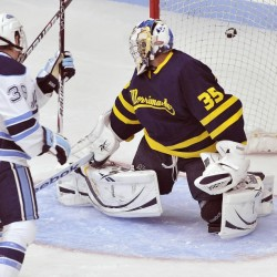 Maine hockey freshman Leen may replace Spencer Abbott