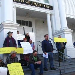 Maine's case against a Blue Hill farmer and his cow gains national attention