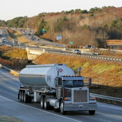 Fewer heavy trucks rumbling through Maine towns