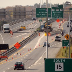 2 lanes on I-395 bridge closed for repairs