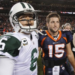 Tebow played through injuries in playoff loss