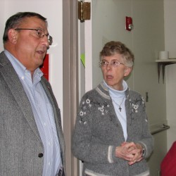 LePage visits Bangor shelter that helps young, at-risk mothers find independence from welfare