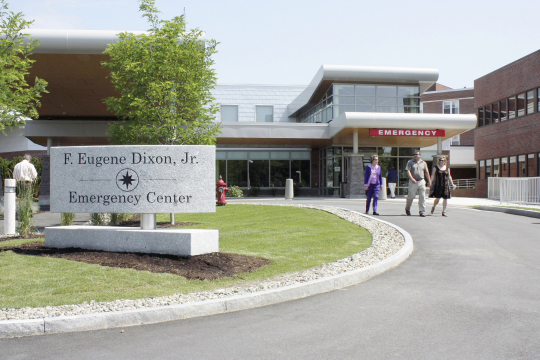 A recent Medicare survey ranked hospitals in the Bangor region, including the Maine Coast Memorial Hospital in Ellsworth, 10th nationwide for patient satisfaction.