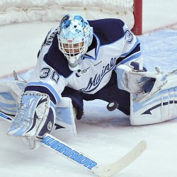 UMaine goalies face daunting task this weekend against BC, UNH