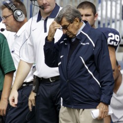 Ex-Penn State president charged in Sandusky case