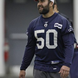 Patriots add depth, drive at linebacker
